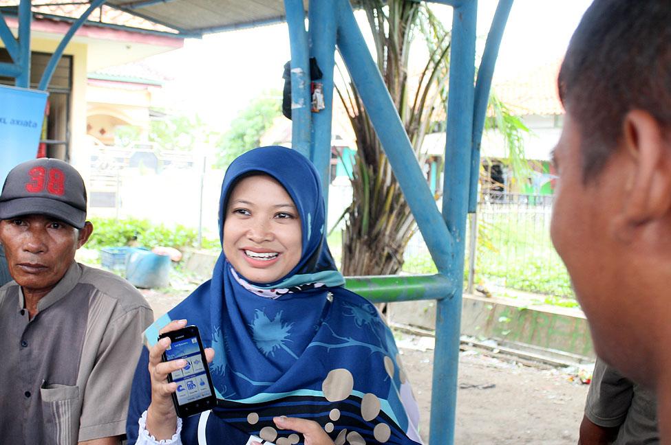 Aplikasi Laut Nusantara diharapkan mampu meningkatkan hasil tangkapan ikan nelayan di Indramayu. (Istimewa)