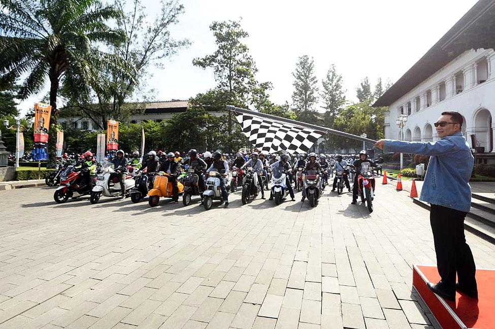 Gesat Riders Ridwan Kamil