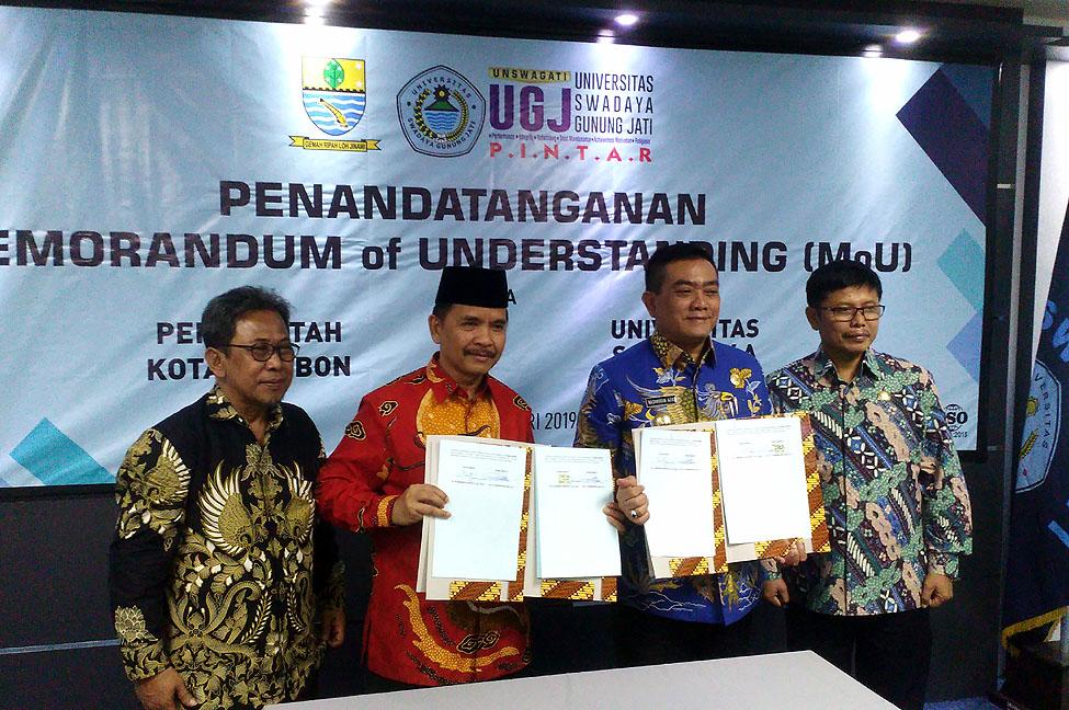 MoU UGJ dan Pemkot Cirebon