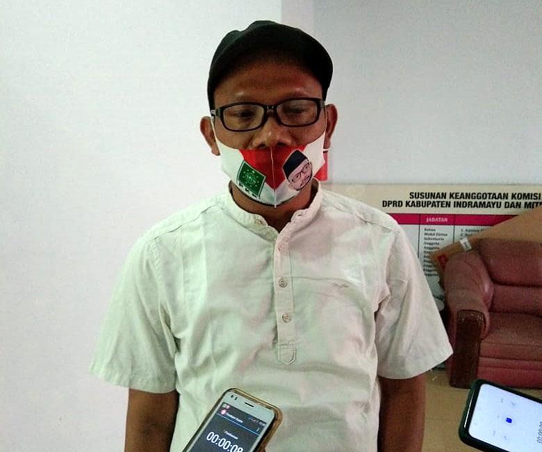 Anggota DPRD Kabupaten Indramayu dari Fraksi Partai Kebangkitan Bangsa (PKB), Akhmad Nujani Nur. (Bakrudin/IJNews)