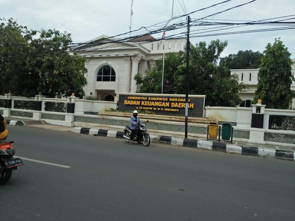 Ilustrasi, Kantor Badan Keuangan Daerah (BKD) Kabupaten Indramayu. (Safaro/IJNews)