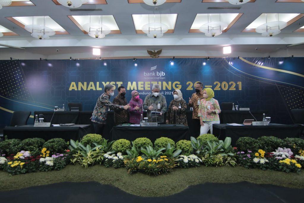Analys Meeting Triwulan II Bank bjb. (Istimewa)