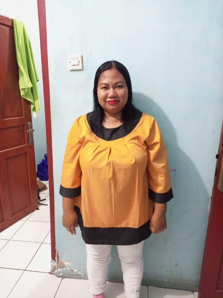 Masripah (36), TKW asal Desa Sukamulya, Kecamatan Tukdana, Kabupaten Indramayu. (Istimewa)