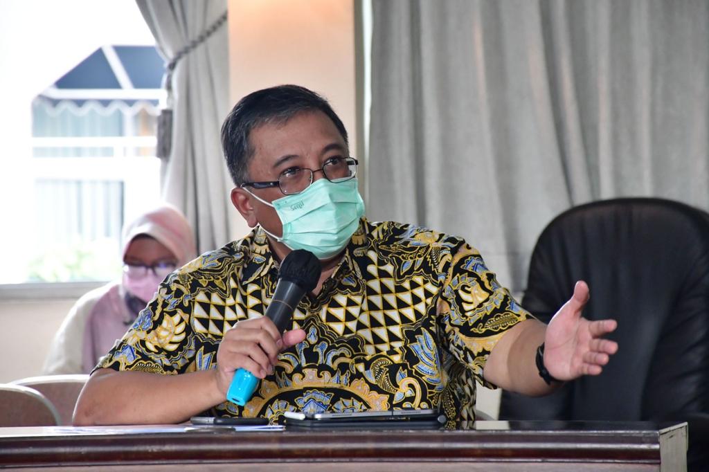 Ketua Fraksi PKS DPRD Jabar, Haru Suandharu. (Tomi Indra)