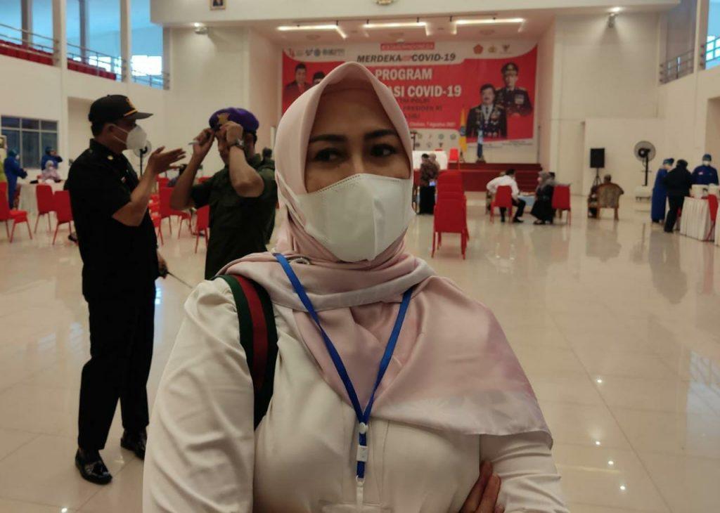 Kepala Dinas Kesehatan Kabupaten Cirebon, Enny Suhaeni. (Indramayujeh)