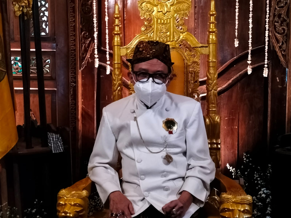 Sultan Sepuh Aloeda II Rahardjo Djali. (Indramayujeh)